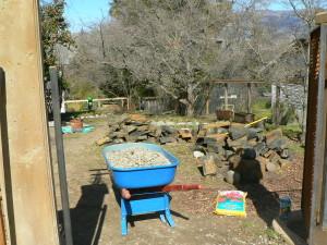 Medicinal Plant Garden Before