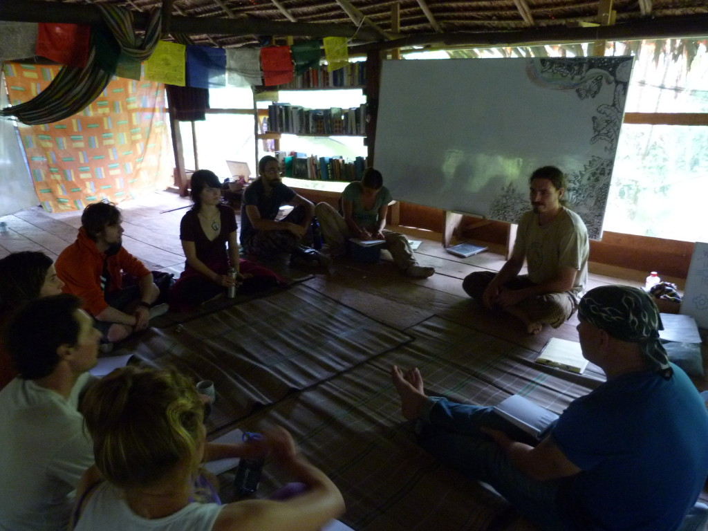 PDC classroom in the Amazon