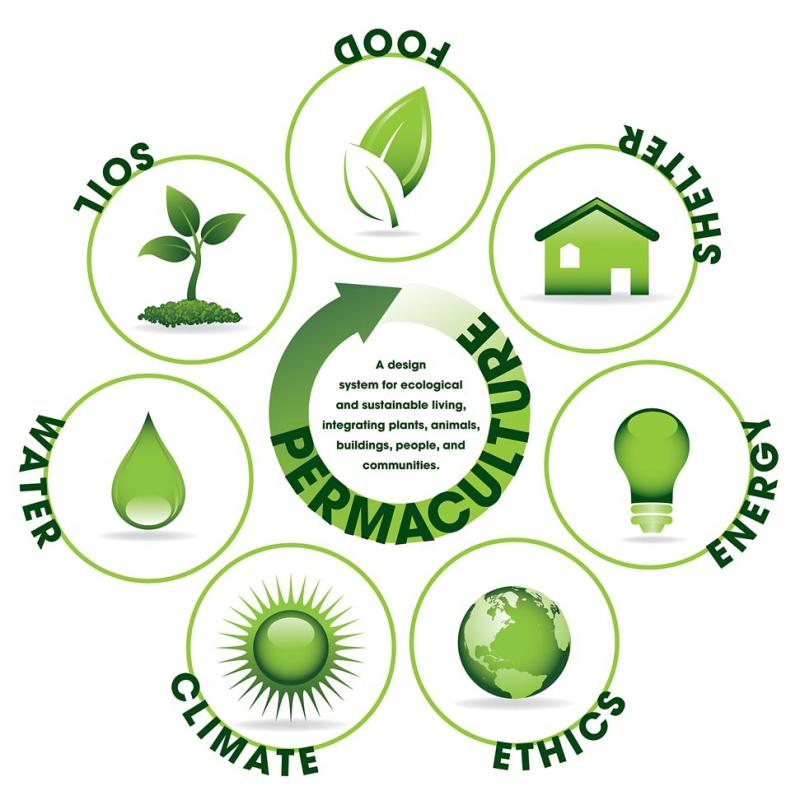 People Technology And Processes Model: Design Site Ecological Permaculture